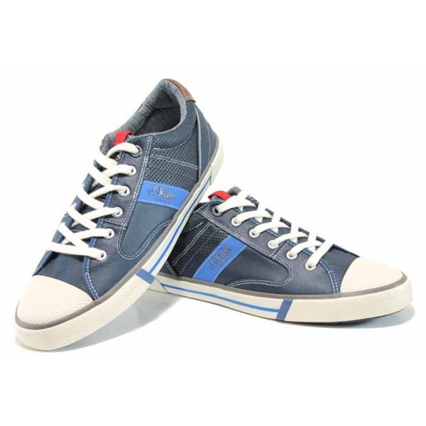 Мъжки кецове с FLEX система S.Oliver 5-13602-20 т.син   Мъжки немски обувки   MES.BG