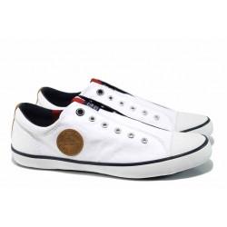Мъжки кецове на комфортно ходило S.Oliver 5-14604-20 бял | Мъжки немски обувки | MES.BG