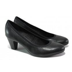 Дамски обувки на среден ток S.Oliver 5-22415-22 черен | Немски обувки на ток | MES.BG