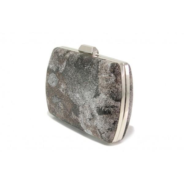 Елегантна дамска чанта клъч МИ 1 бакър | Дамска чанта | MES.BG