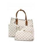 Модерна ежедневна чанта ФР 2035 бежов | Дамска чанта | MES.BG