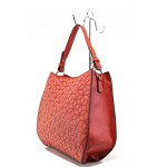Модерна ежедневна чанта ФР 2052 червен   Дамска чанта   MES.BG