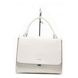 Дамска чанта с модерна визия ФР 9085 бял | Дамска чанта | MES.BG