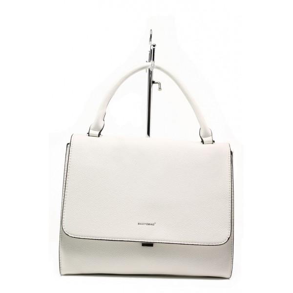 Дамска чанта с модерна визия ФР 9085 бял   Дамска чанта   MES.BG