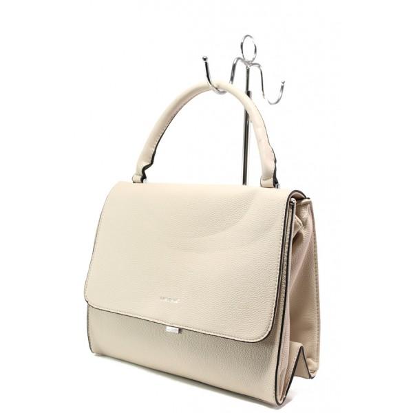 Дамска чанта с модерна визия ФР 9085 бежов | Дамска чанта | MES.BG