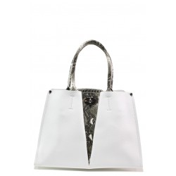 Елегантна дамска чанта ФР 231 бял | Дамска чанта | MES.BG