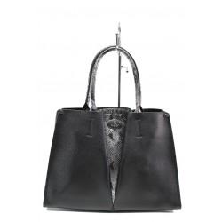 Елегантна дамска чанта ФР 231 черен | Дамска чанта | MES.BG