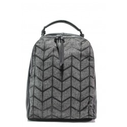 Спортна чанта-раница ФР 2062 черен | Дамска чанта | MES.BG