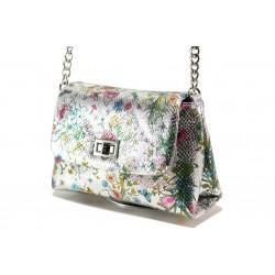 Модерна спортна чанта ФР 28103 сребро | Дамска чанта | MES.BG
