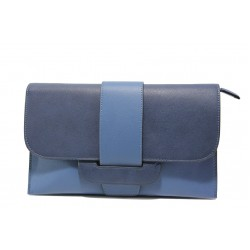 Елегантна дамска чанта клъч ФР 477 син | Дамска чанта | MES.BG