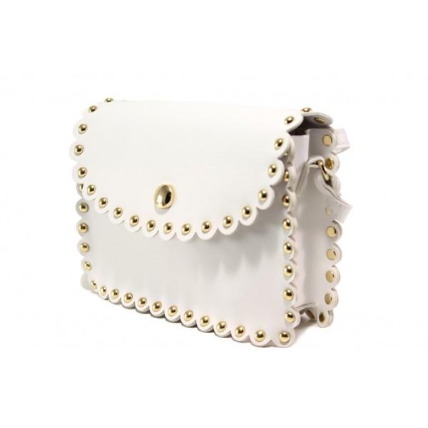 Модерна спортна чанта ФР 2800 бял | Дамска чанта | MES.BG