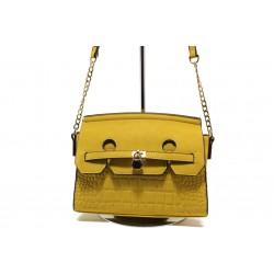 Модерна спортна чанта ФР 001 горчица | Дамска чанта | MES.BG