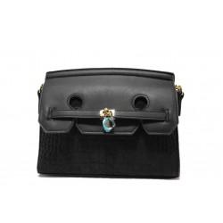 Модерна спортна чанта ФР 001 черен | Дамска чанта | MES.BG