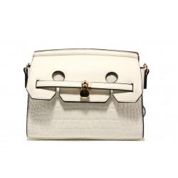 Модерна спортна чанта ФР 001 бял | Дамска чанта | MES.BG