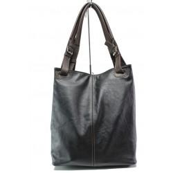 Българска дамска чанта от естествена кожа КН 13 кафяв | Дамска чанта | MES.BG