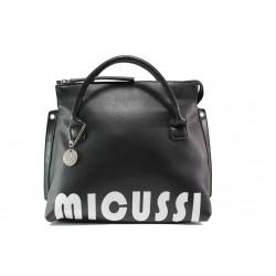 Ежедневна дамска чанта с модерна визия ФР 6520 черен | Дамска чанта | MES.BG