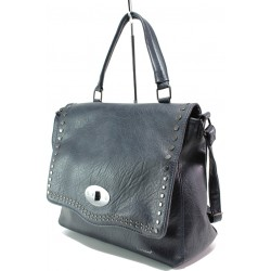 Модерна дамска чанта ФР 6026 син | Дамска чанта | MES.BG
