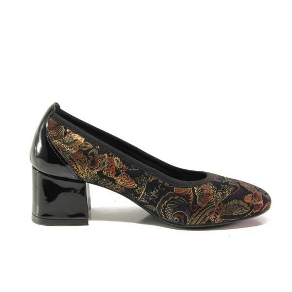 Дамски ортопедични обувки SOFTMODE 333804-00 Faye златен | Дамски обувки на среден ток | MES.BG