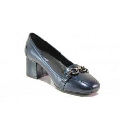 Дамски ортопедични обувки SOFTMODE 333805-00 Franse син | Дамски обувки на среден ток | MES.BG