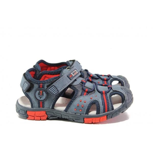 Анатомични детски сандали АБ 03-19 т.син 26/31 | Детски чехли и сандали | MES.BG