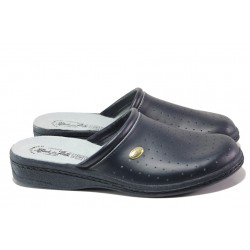 Анатомични мъжки домашни чехли Spesita 17-163 черен | Домашни чехли | MES.BG