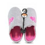 Анатомични дамски домашни чехли Runners 172-1438 сив | Домашни чехли | MES.BG