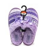 Анатомични дамски домашни чехли Runners 162-14055 лилав | Домашни чехли | MES.BG