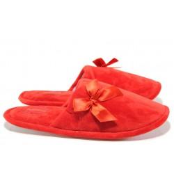Анатомични дамски домашни чехли Runners 172-162 червен | Домашни чехли | MES.BG