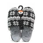 Анатомични дамски домашни чехли Runners 172-1700 черен | Домашни чехли | MES.BG