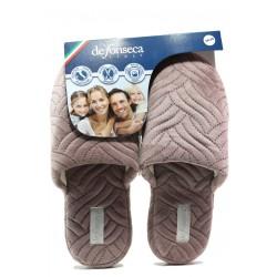 Анатомични дамски чехли Defonseca ROMA TOP I W563 розов | Домашни чехли | MES.BG