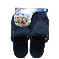Анатомични мъжки чехли Defonseca ROMA TOP P M15 т.син | Домашни чехли | MES.BG