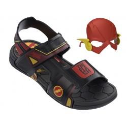 Анатомични детски сандали с лепенки Rider 21855 Флаш черен 28/36 | Бразилски чехли и сандали | MES.BG