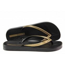 Анатомични дамски чехли Ipanema 82526 черен | Бразилски чехли | MES.BG