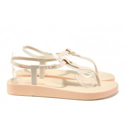 Анатомични дамски сандали Ipanema 82626 бежов | Бразилски чехли и сандали | MES.BG