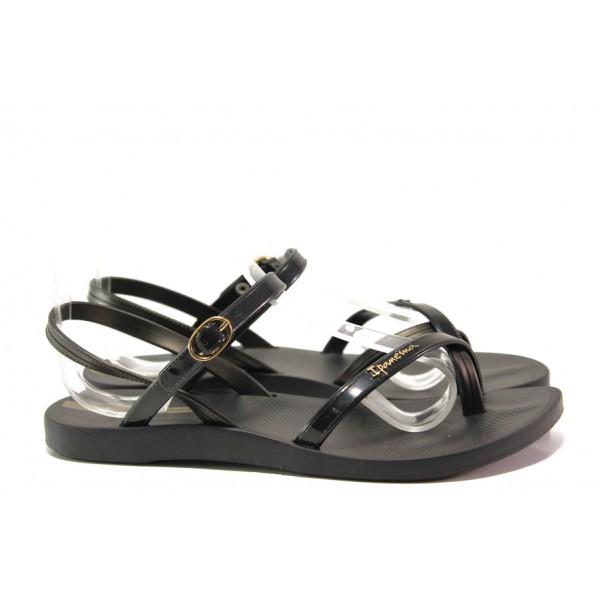 Анатомични дамски сандали Ipanema 82682 черен | Бразилски чехли и сандали | MES.BG