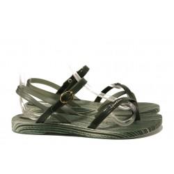 Анатомични дамски сандали Ipanema 82521 зелен | Бразилски чехли и сандали | MES.BG