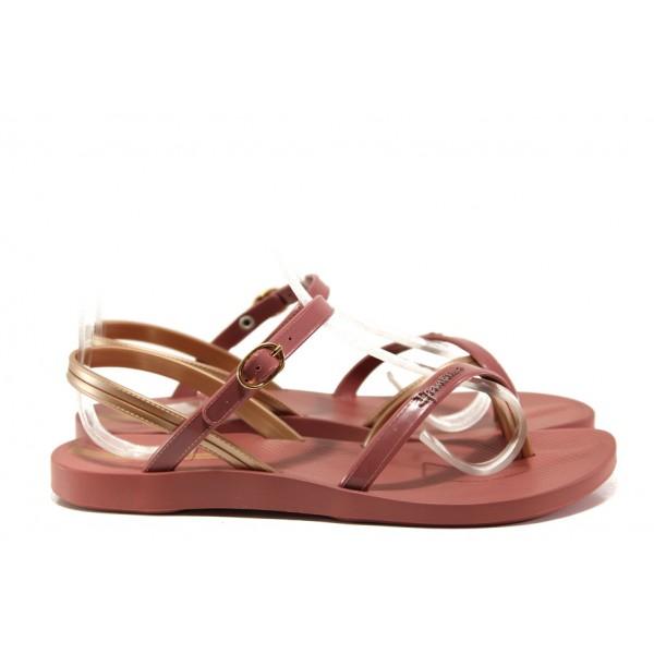Анатомични дамски сандали Ipanema 82682 червен | Бразилски чехли и сандали | MES.BG