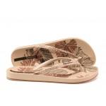 Анатомични дамски чехли Ipanema 82525 розов | Бразилски чехли | MES.BG
