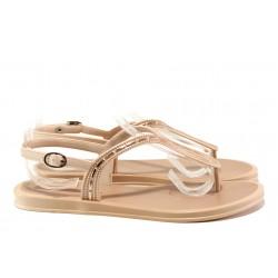 Равни дамски сандали Grendha 17637 розов | Бразилски чехли и сандали | MES.BG