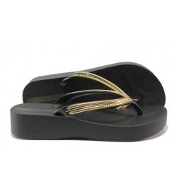 Анатомични дамски чехли Ipanema 82527 черен | Бразилски чехли | MES.BG