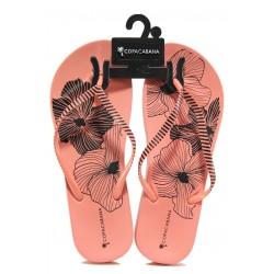 Анатомични дамски чехли Ipanema 82632 розов | Бразилски чехли | MES.BG
