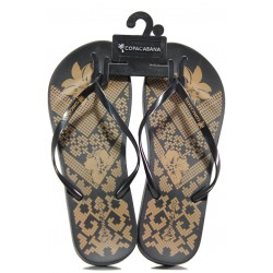 Анатомични дамски чехли Ipanema 82633 черен | Бразилски чехли | MES.BG