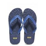 Мъжки джапанки с лента между пръстите Runners 191-510267 син | Мъжки джапанки и чехли | MES.BG