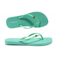 Равни дамски джапанки Runners 181-14151 зелен | Дамски джапанки и чехли | MES.BG