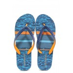 Мъжки джапанки с лента между пръстите Runners 191-18020 син-оранжев | Мъжки джапанки и чехли | MES.BG