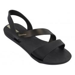 Равни дамски сандали Ipanema 82429 черен | Бразилски чехли и сандали | MES.BG