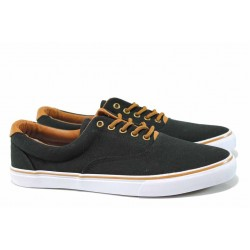 Мъжки спортни обувки АБ 03-19 черен | Мъжки ежедневни обувки | MES.BG