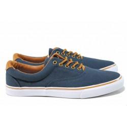 Мъжки спортни обувки АБ 03-19 т.син | Мъжки ежедневни обувки | MES.BG