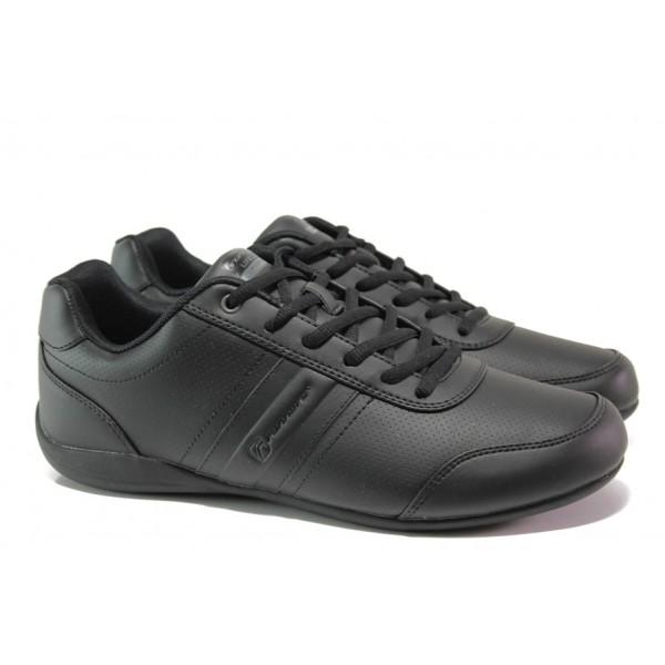 """Мъжки спортни обувки с """"амортизираща пяна"""" РС 191-3067 черен   Мъжки маратонки   MES.BG"""