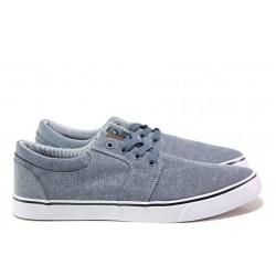 Мъжки спортни обувки АБ 68-19 т.син-бял | Мъжки ежедневни обувки | MES.BG